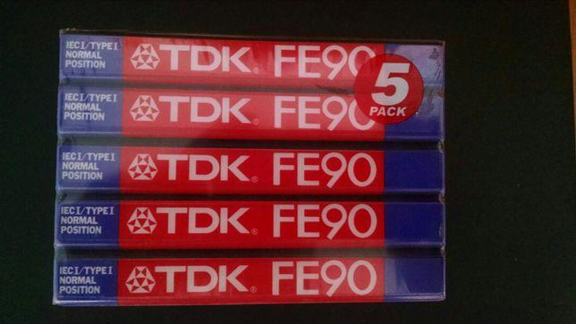 Продам касети TDK FE90