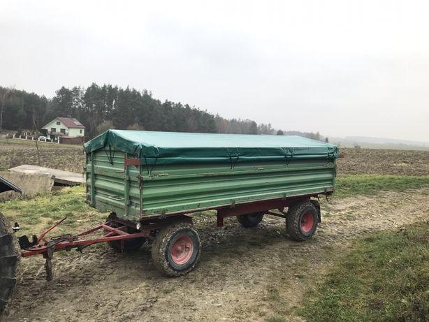 Przyczepa rolnicza 8T 3 strony wywrot Farm Container Hoffmann