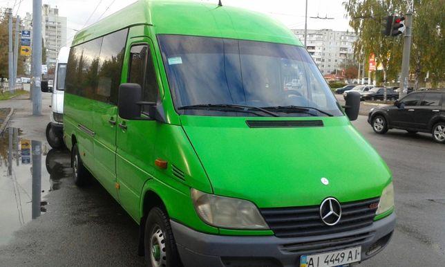 Аренда микроавтобуса Спринтера, перевозка пассажиров трансфер Sprinter