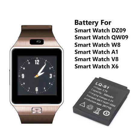 Bateria smartwatch DZ09