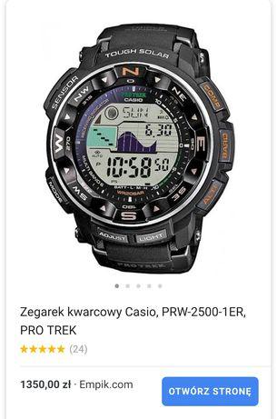 Zegarek Casio Protrek prw2500