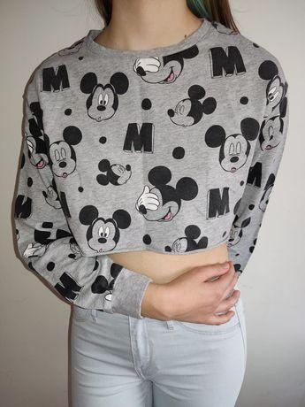 Krótka bluzka Disney h&m roz S