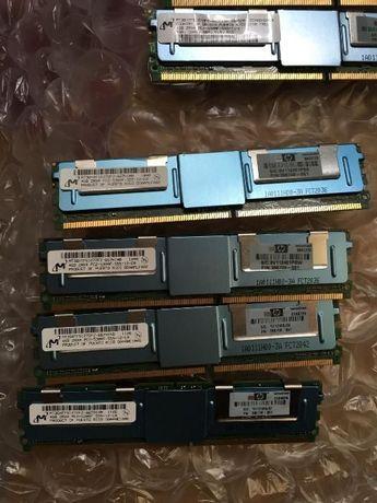 серверная DDR2 4Gb / 8Gb 5300F REG ECC 667MHz