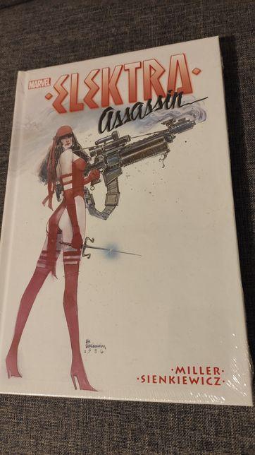Komiks nowy Marvel Elektra Assassin folia