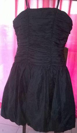 vestido preto cerimónia-Artigo Novo(Tam:L/XL)