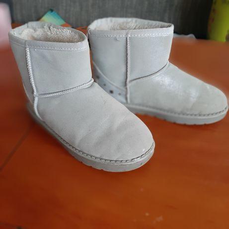 Buty zimowe 35 dziewczynka