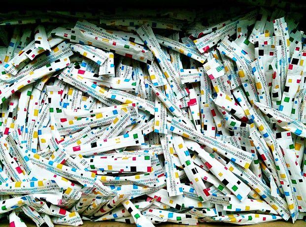 Cukier biały w saszetkach paluszkach 4g x 1000 sztuk
