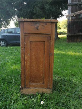 Drewniana szafka nocna/nakastlik - do odnowienia