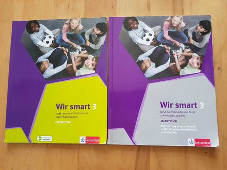 Wir smart 3 (klasa 6, 2017). Podręcznik i ćwiczenia. Język niemiecki 6