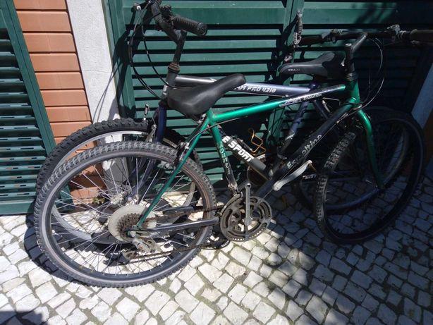 2 Bicicletas de adulto, alguns a fazeres