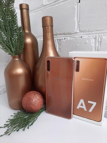 Телефон Samsung Galaxy A7 Gold (A750)