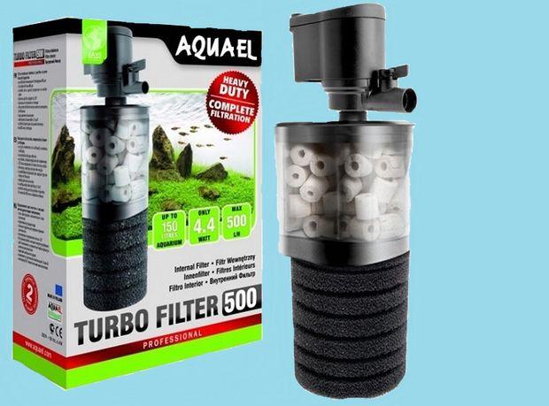 Filtr wemnętrzny do akwarium Aquael Turbo 500lh 4,4 W
