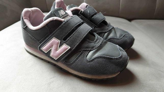 Sportowe buty dziewczece NEW BALANCE 373 rozmiar 32 wkładka 19 cm