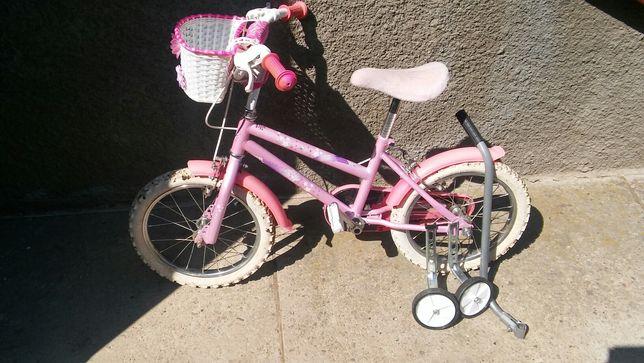 Rower, rowerek dla dziewczynki koła 16 cali