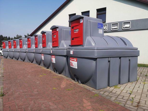 Zbiornik na paliwo 2500L - z dystrybutorem - PROMAGRO - HIT