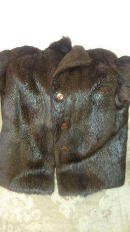 Futro z nutrii - kurtka rozmiar 52