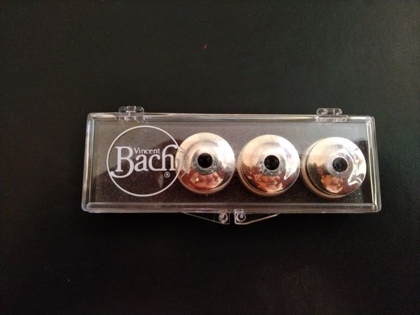 Bach trumpet heavy bottom valve caps