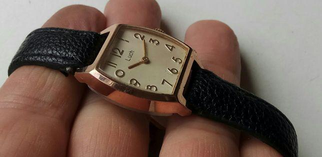 Часы Луч, СССР, красная позол. Au10+