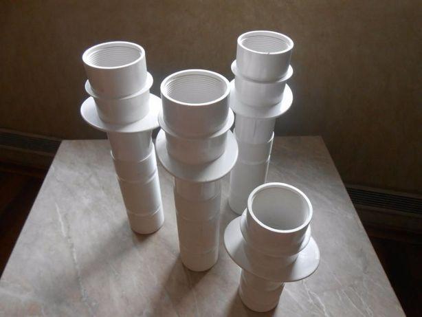 Закладная деталь для форсунки Коробы и трубы для бассейна из пластика