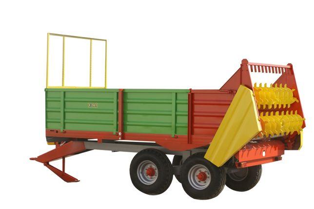 Roztrząsacz rozrzutnik obornika Jol-Met N250/1 3,5 tony.