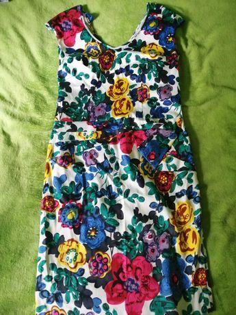 Sukienka w kwiaty Pola Mondi rozmiar 38