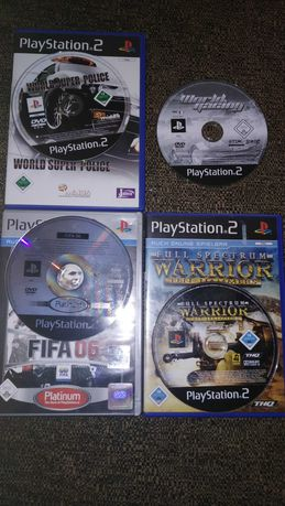 4 Gry do PlayStation 2