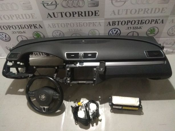 Торпеда подушка комплект безопасности Фольксваген Пасат Б7 VW Passat