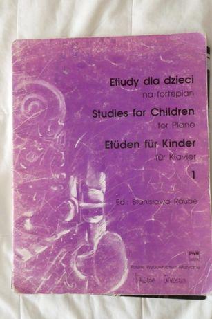 Etiudy dla dzieci na fortepian St. Raube