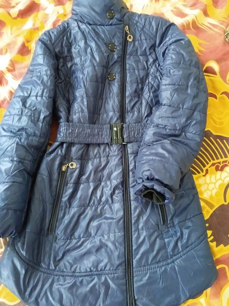 Деми пальто плащ рост 140