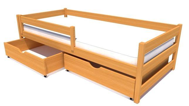 Łóżeczko pojedyncze dla dziecka dostępne w wielu kolorach do wyboru