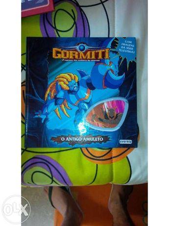 Livro Infantil Gormitti - O Amuleto Antigo