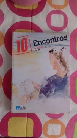 Manual de Português - Encontros - Porto Editora 10ºano