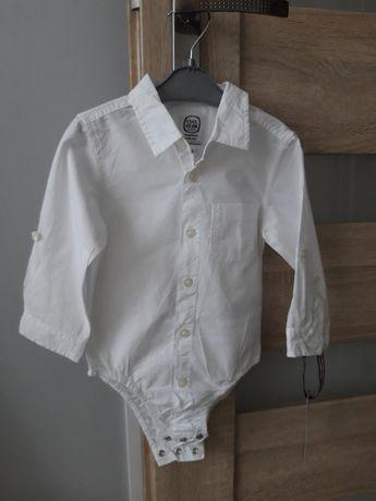 Koszulobody białe eleganckie 86