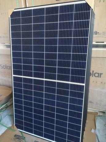 340 Wp Panele/Moduły Fotowoltaiczne DAH Solar PERC HalfCut Mono 9BB