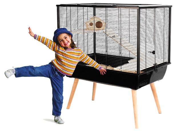 Klatka Dla Gryzonia Chomika Myszki Świnki - Neo Silta