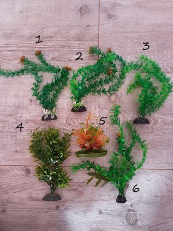 Roślinki małe - sztuczne do akwarium