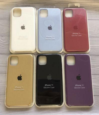 Распродажа Silicone case iPhone 11 X Xs Силиконовый чехол на 11 айфон