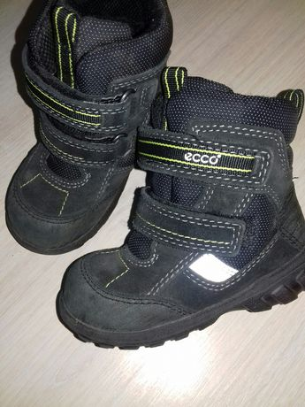 Зимние ботинки ecco gore-tex 22, зимові ботинки