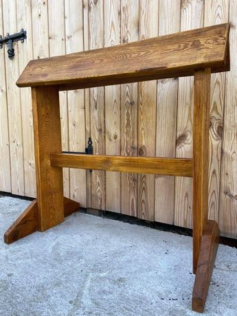 Sprzedam solidny, drewniany stojak na siodło