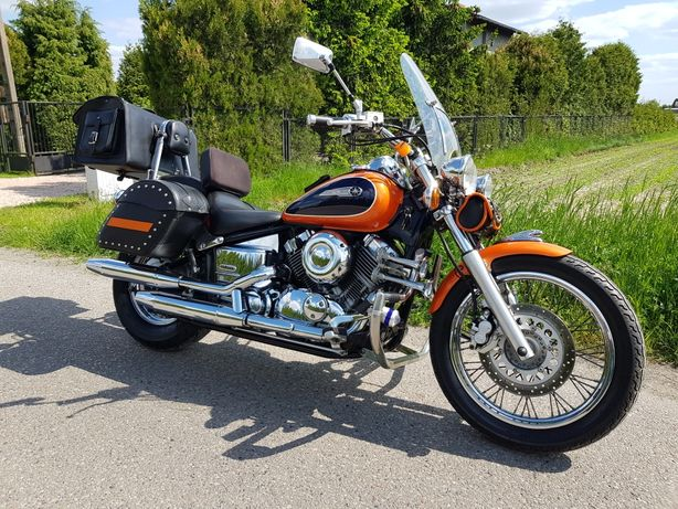 Yamaha Drag Star XVS 650 Custom od motocyklisty