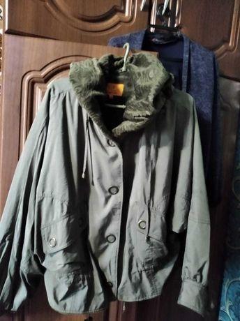 Куртка Зелёная