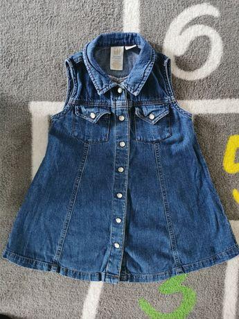 Jeansowa sukienka GAP 92