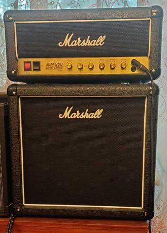 Комплект усилитель кабинет Marshall JCM 800 Studio SC20H