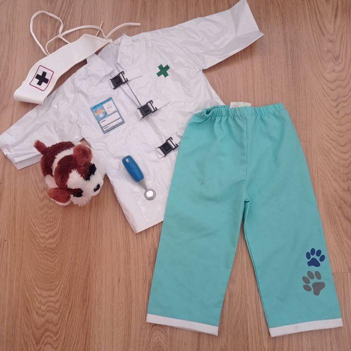 карнавальный костюм доктор 3-5 лет ветеринар. Лікар elc Ирпень - изображение 1