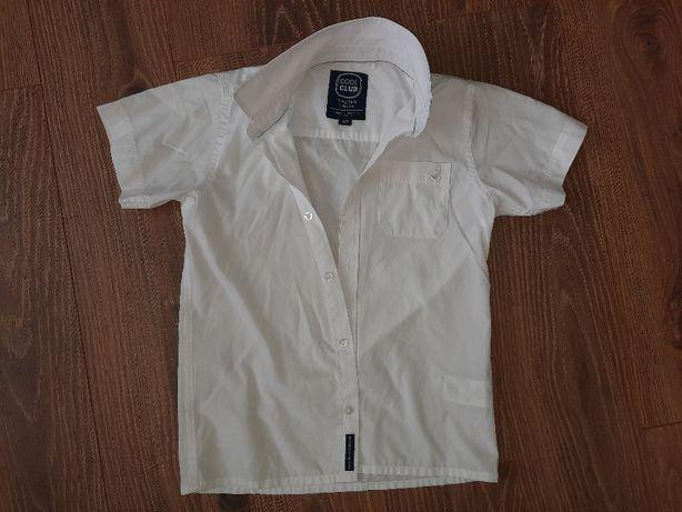 Biała koszula Cool Club 128 chłopiec