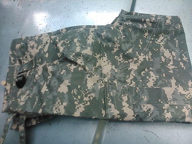 Wojskowe spodnie rip stop nowe w kamuflażu us army digital XL