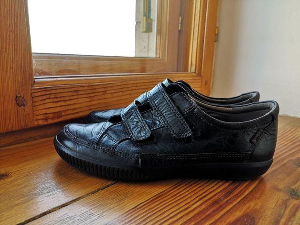 В отличном. Туфли, ботинки, кроссовки ECCO, ЕССО, Экко Р.36-37 23,5см