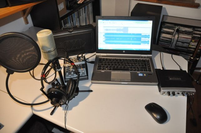 Mobilne Studio-Mikrofon MXL990,Lexicon,Mikser,Słuchawki,kable