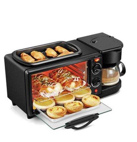 Электрическая духовка с кофеваркой и сковородой BOMA BM-1601