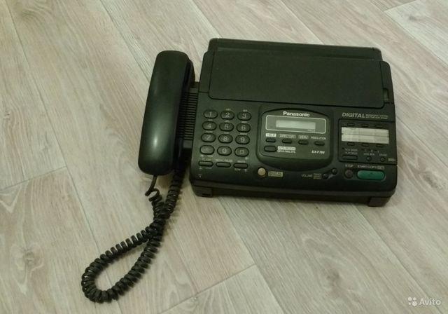 Факс Panasoniс KX-F780BX